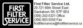 First Filter Service | (306) 242-5321